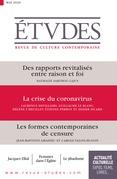 Revue Etudes - La crise du coronavirus