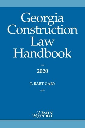 Georgia Construction Law Handbook 2020