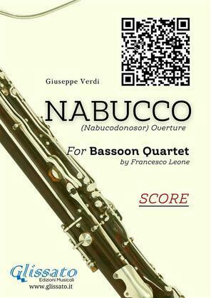 Nabucco - Bassoon Quartet score & parts