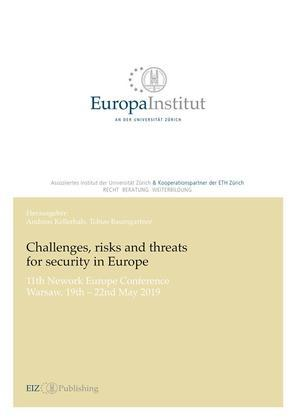 Challenges, risks and threats for security in Europe