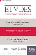 Revue Etudes - Prendre soin de notre terre, entretien avec Gilles Clément
