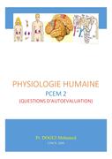 Physiologie Humaine PCEM 2 - Questions d'autoévaluation