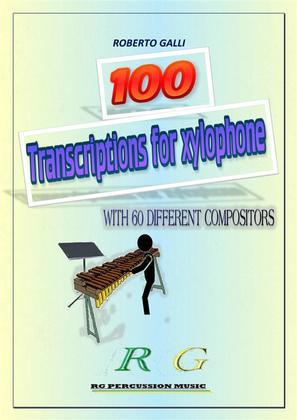 100 Transcriptions for xylophone