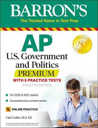 AP US Government and Politics Premium