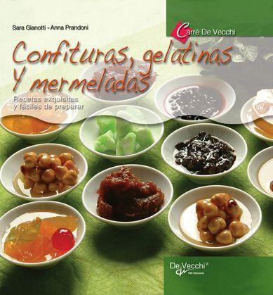 Confituras, gelatinas y mermeladas