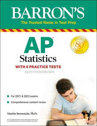 AP Statistics with 6 Practice Tests
