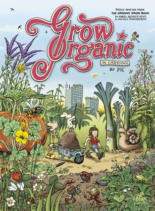 Grow Organic in Cartoons