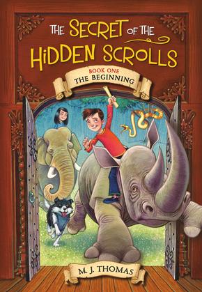 The Secret of the Hidden Scrolls: The Beginning, Book 1