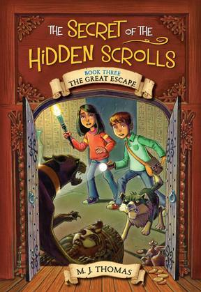 The Secret of the Hidden Scrolls: The Great Escape, Book 3