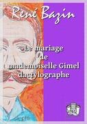 Le mariage de mademoiselle Gimel dactylographe