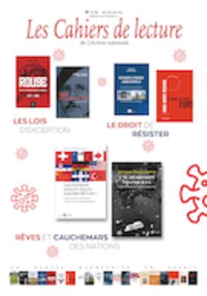 Les Cahiers de lecture de L'Action nationale. Vol. 14 No. 3, Été 2020