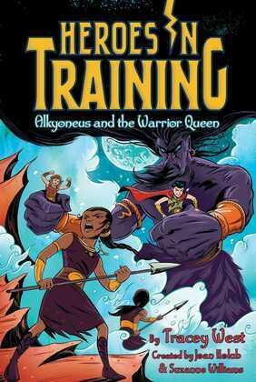 Alkyoneus and the Warrior Queen