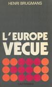 L'Europe vécue