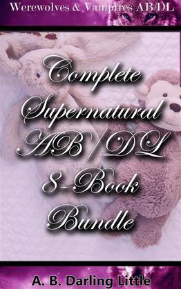 Complete Supernatural AB/DL 8-Book Bundle