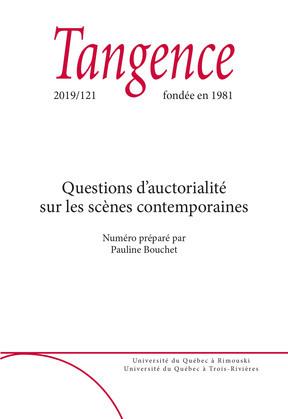 Tangence. No. 121,  2019