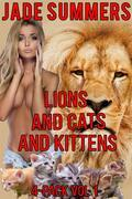 Lions and Cats and Kittens 4-Pack Vol 1
