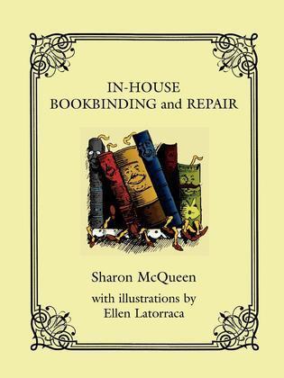 In-House Book Binding and Repair