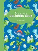 Dinosaur Coloring Book for Kids Ages 4+