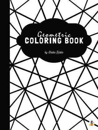 Geometric Patterns Coloring Book for Teens & Young Adults