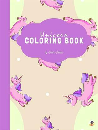 Unicorn Coloring Book for Kids Ages 4+