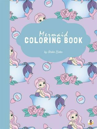 Mermaid Coloring Book for Kids Ages 4+