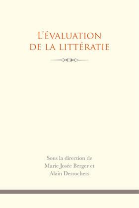 L' Évaluation de la littératie