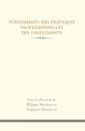 Fondements des pratiques professionnelles des enseignants