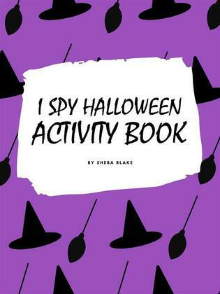 I Spy Halloween Activity Book for Kids