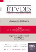 Revue Etudes - Le bilan de la Convention citoyenne (Entretien avec Thierry Pech)