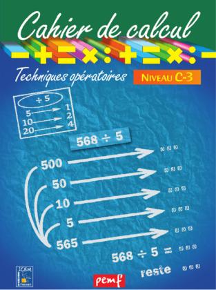 Cahier de calcul cycle 3 niveau 2C