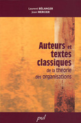 Auteurs et textes classiques de la théorie des organisations