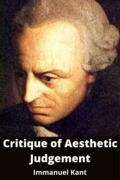 Critique of Aesthetic Judgement