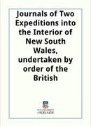 Two Expeditions into the Interior of New South Wales