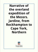 Narrative of the overland expedition of the Messrs. Jardine