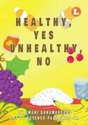 Healthy, Yes Unhealthy, No