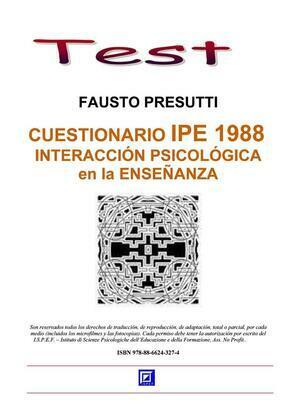 ???????Cuestionario IPE 1988. Interacciòn Psicològica en la Ensenanza.