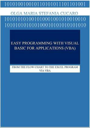 EASY PROGRAMMING with Visual Basic for Application (VBA)