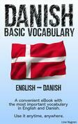 Basic Vocabulary English - Danish