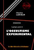 Introduction à quelques points de L'Occultisme Expérimental