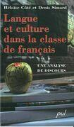 Langue et culture dans la classe de français