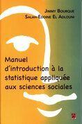 Manuel d'introduction à la statistique appliquée aux science
