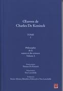 Oeuvres de Charles De Koninck 1 volume 2