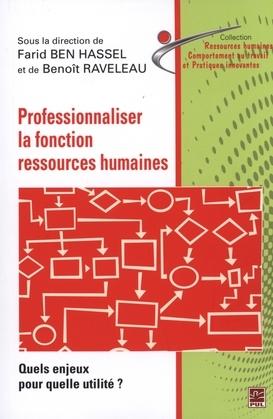 Professionnaliser la fonction ressources humaines