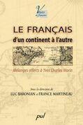 Le français d'un continent à l'autre