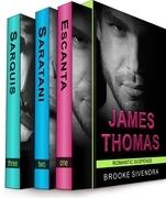 The James Thomas Romantic Suspense Box Set (Three Complete Romantic Suspense Novels)
