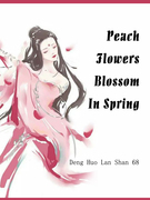 Peach Flowers Blossom In Spring