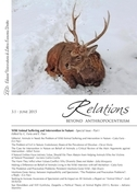 Relations. Beyond Anthropocentrism. Vol. 3, No. 1 (2015). Wild Animal Suffering and Intervention in Nature: Part I