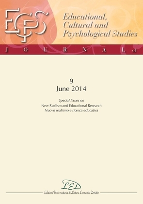 Journal of Educational, Cultural and Psychological Studies (ECPS Journal) No 9 (2014)