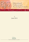 Journal of Educational, Cultural and Psychological Studies (ECPS Journal) No 5 (2012)