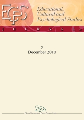 Journal of Educational, Cultural and Psychological Studies (ECPS Journal) No 2 (2010)